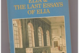 009 Essays Of Elia Essay Example Striking Epub Summary Text Pdf