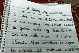 009 Favorite Day Of The Week Essay Example Rainy In Winter Short Smart And Easy For Kids My Favourite Writing Outstanding Sunday Is
