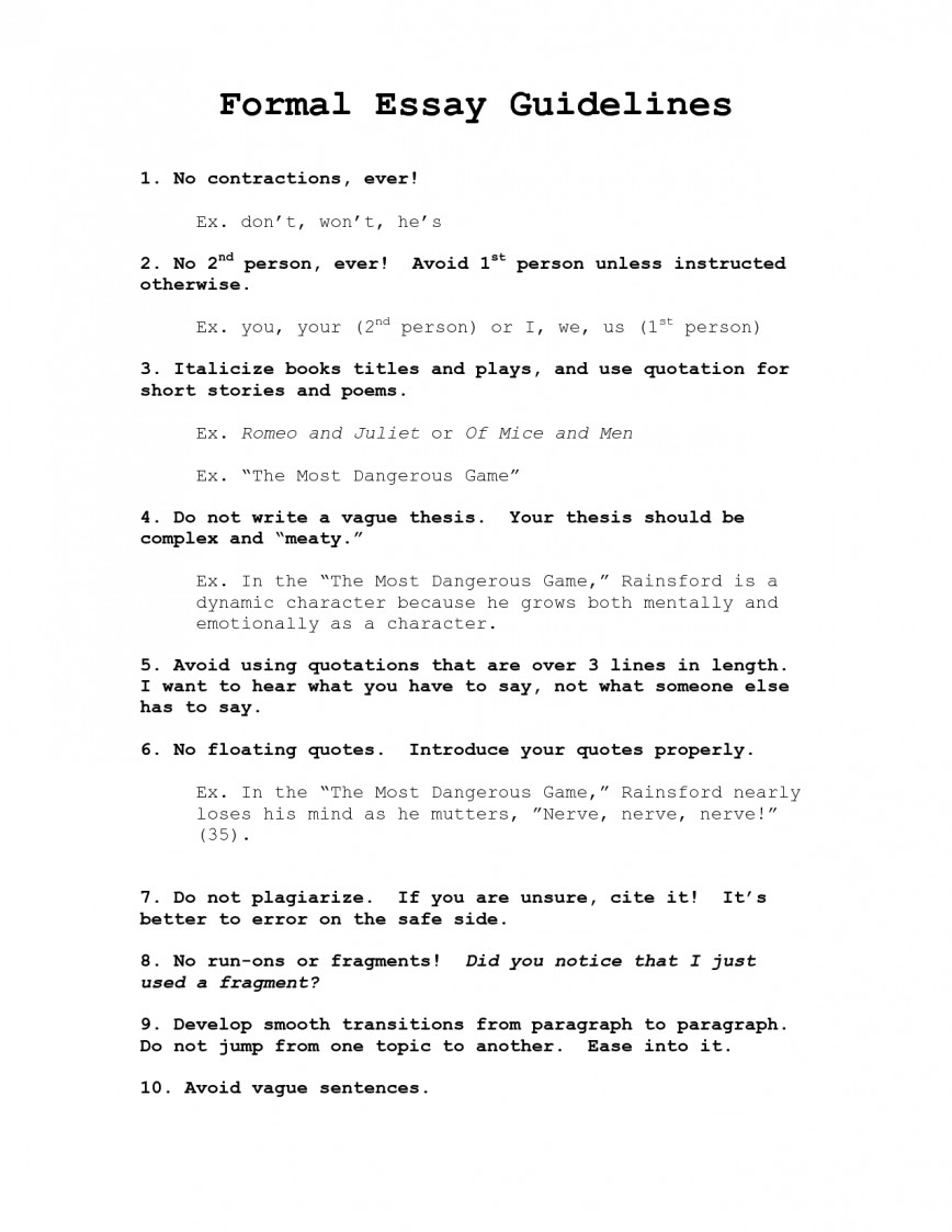 009 Formal Essay Format 326907 Excellent Research Outline Argumentative Topics Letter Example