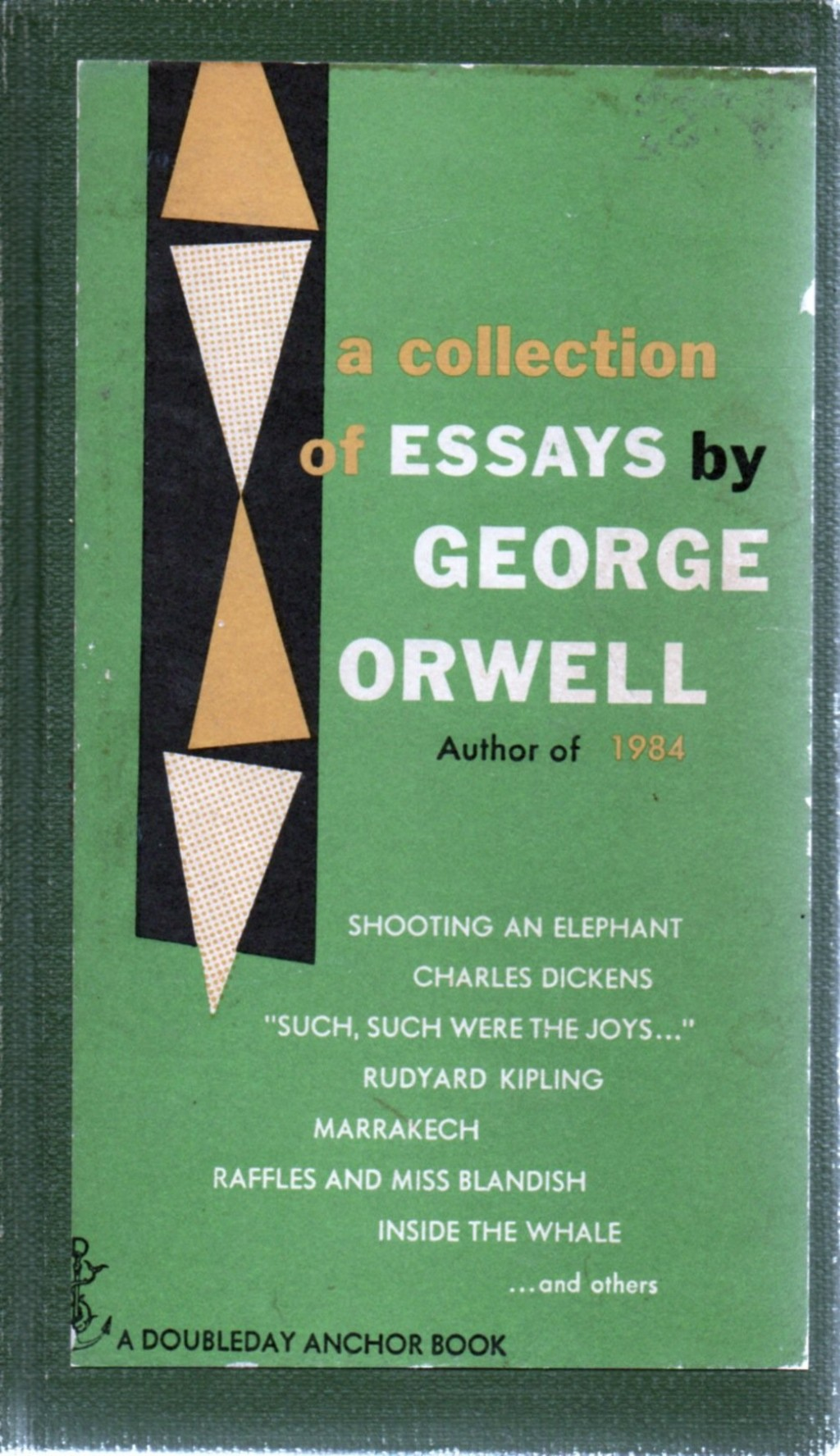 009 George Orwell Essays Essay Example Frightening Everyman's Library Summary Bookshop Memories Large