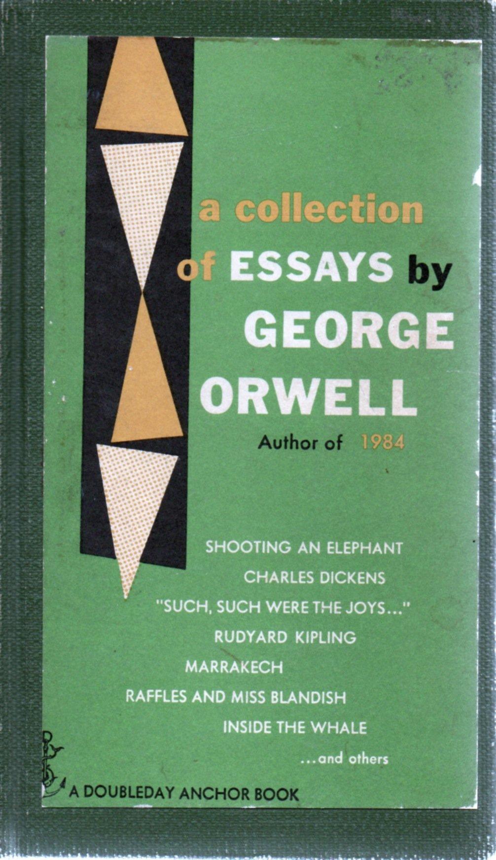 009 George Orwell Essays Essay Example Frightening Everyman's Library Summary Bookshop Memories Full