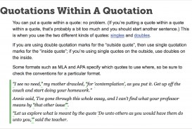 009 How To Include Quote In An Essay Frightening A Large Famous Add Long
