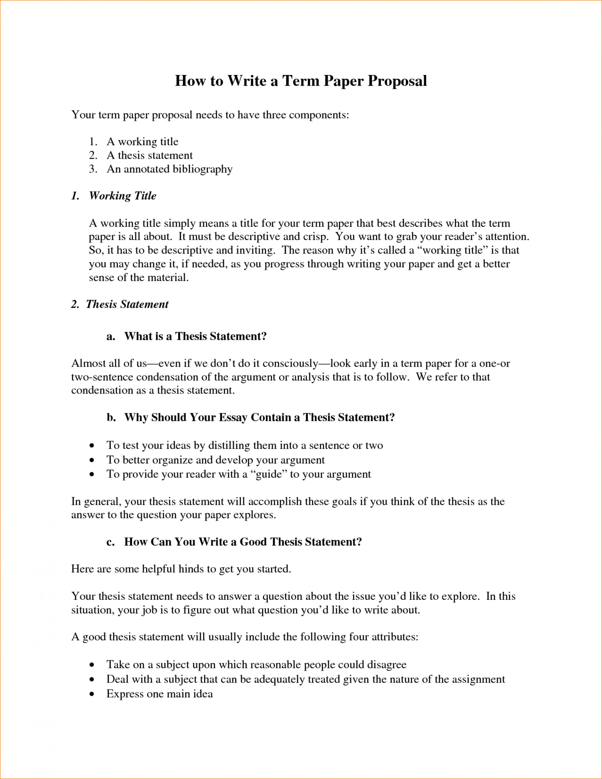 009 How To Write Proposal An Essay Shocking Example For History Mla 1920