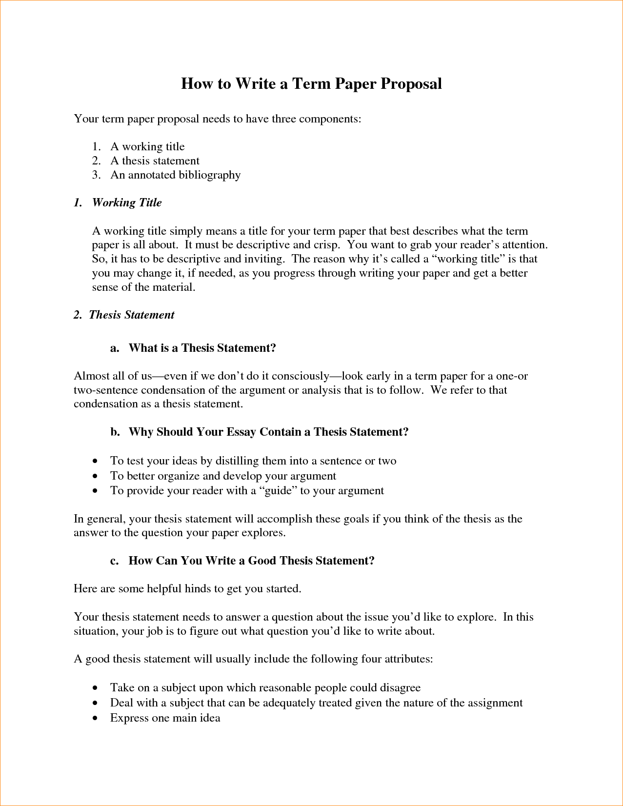 Thesis Statement For Education Essay  Business Management Essays also Essay On English Literature  Proposal Essay Paper  How To Write An  Thatsnotus Example Thesis Statement Essay
