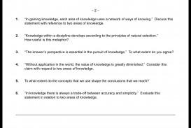 009 How To Write Tok Essay Example Wondrous A Ib Mastery Reddit