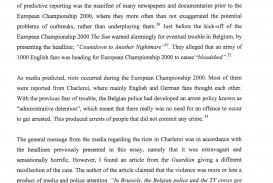 009 Ib Extended Essay Free Sample Example English Writing Striking Essays Creative