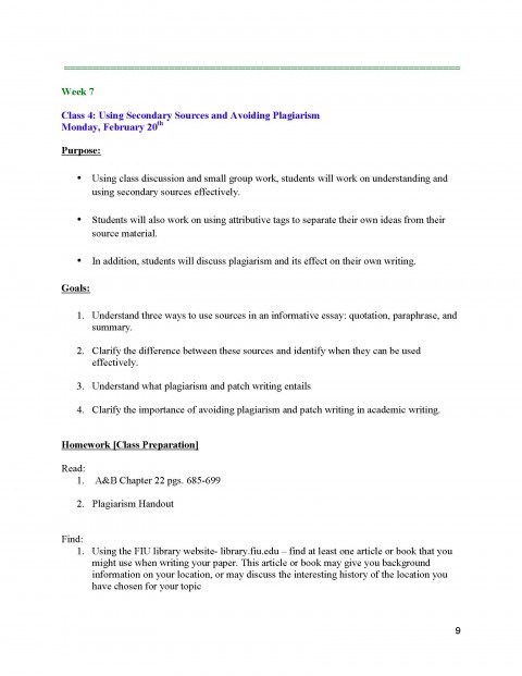 009 Informative Essay Unit 2 Plans Instructor Copy Page 09 Dreaded Graphic Organizer Middle School Rubric 6th Grade Topics 480