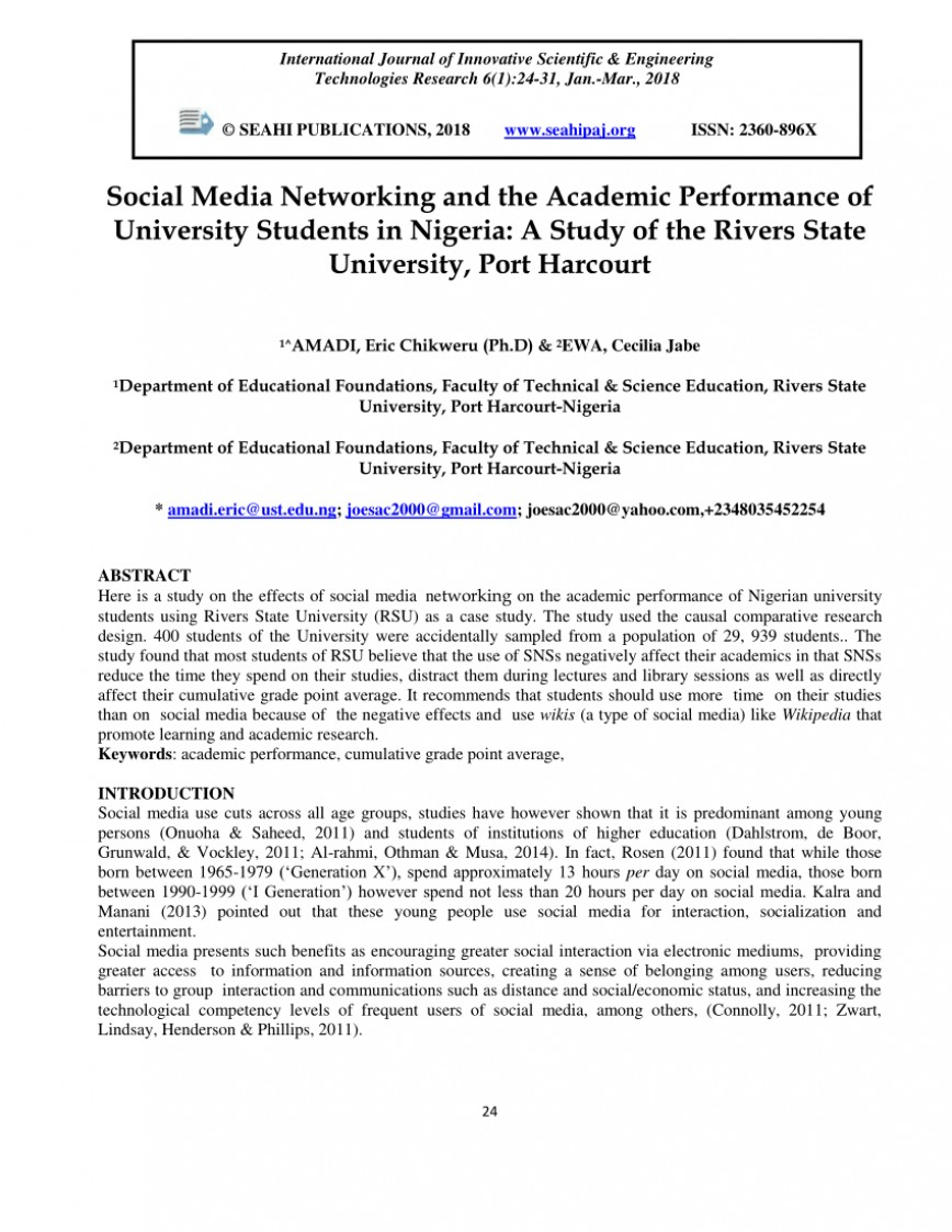 009 Largepreview Pros And Cons Of Social Media Essay Pdf Fantastic