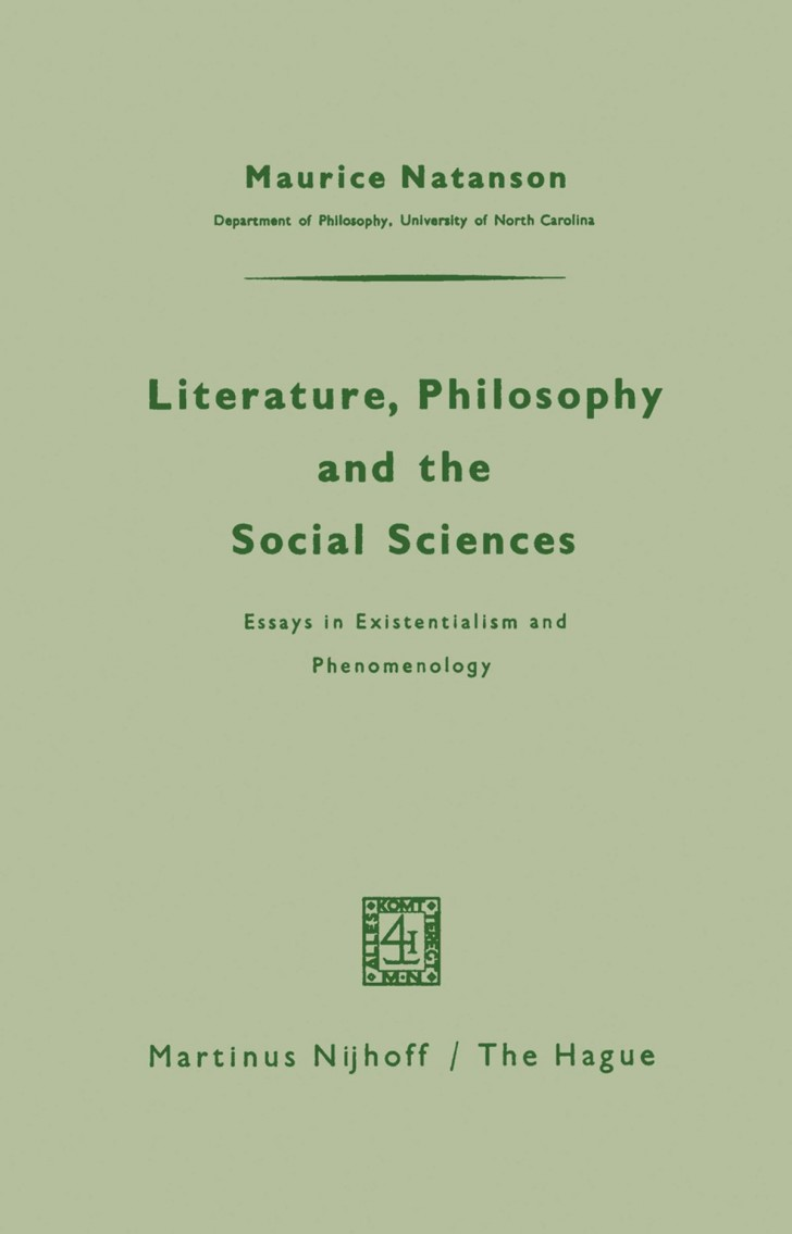 009 Literature Philosophy And The Social Sciences Essay Example Essays In Outstanding Existentialism Sartre Tumblr Clarke Lexa 728