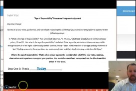 009 Maxresdefault Essay Example Age Of Awful Responsibility Persuasive Argumentative Criminal