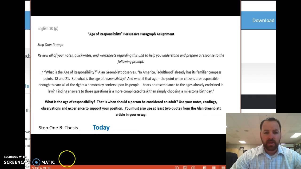 009 Maxresdefault Essay Example Age Of Awful Responsibility Persuasive Argumentative Criminal Full