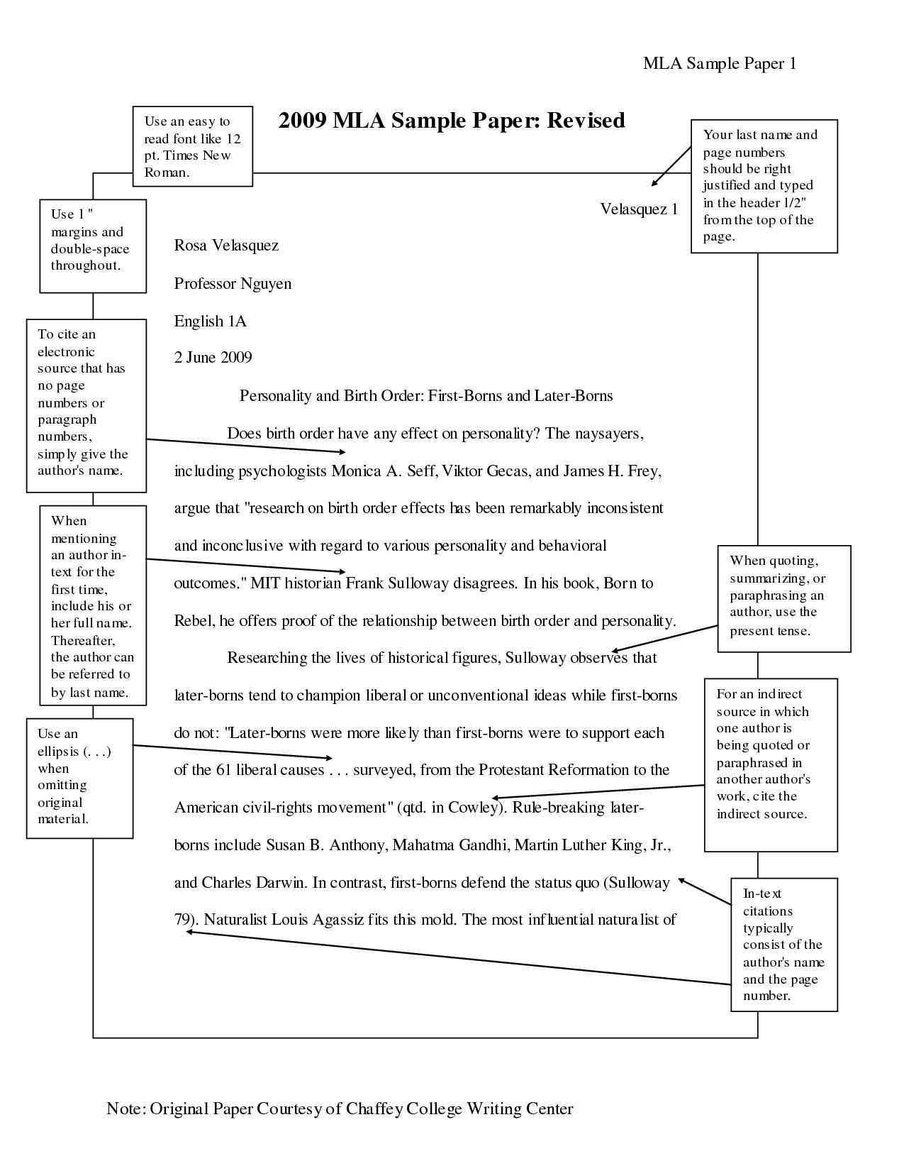 009 Mla Format Essays Essay Magnificent Persuasive Outline Example 2017 Full