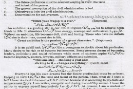 009 My Life Essay Sensational In Urdu Aim Language Ambition 320