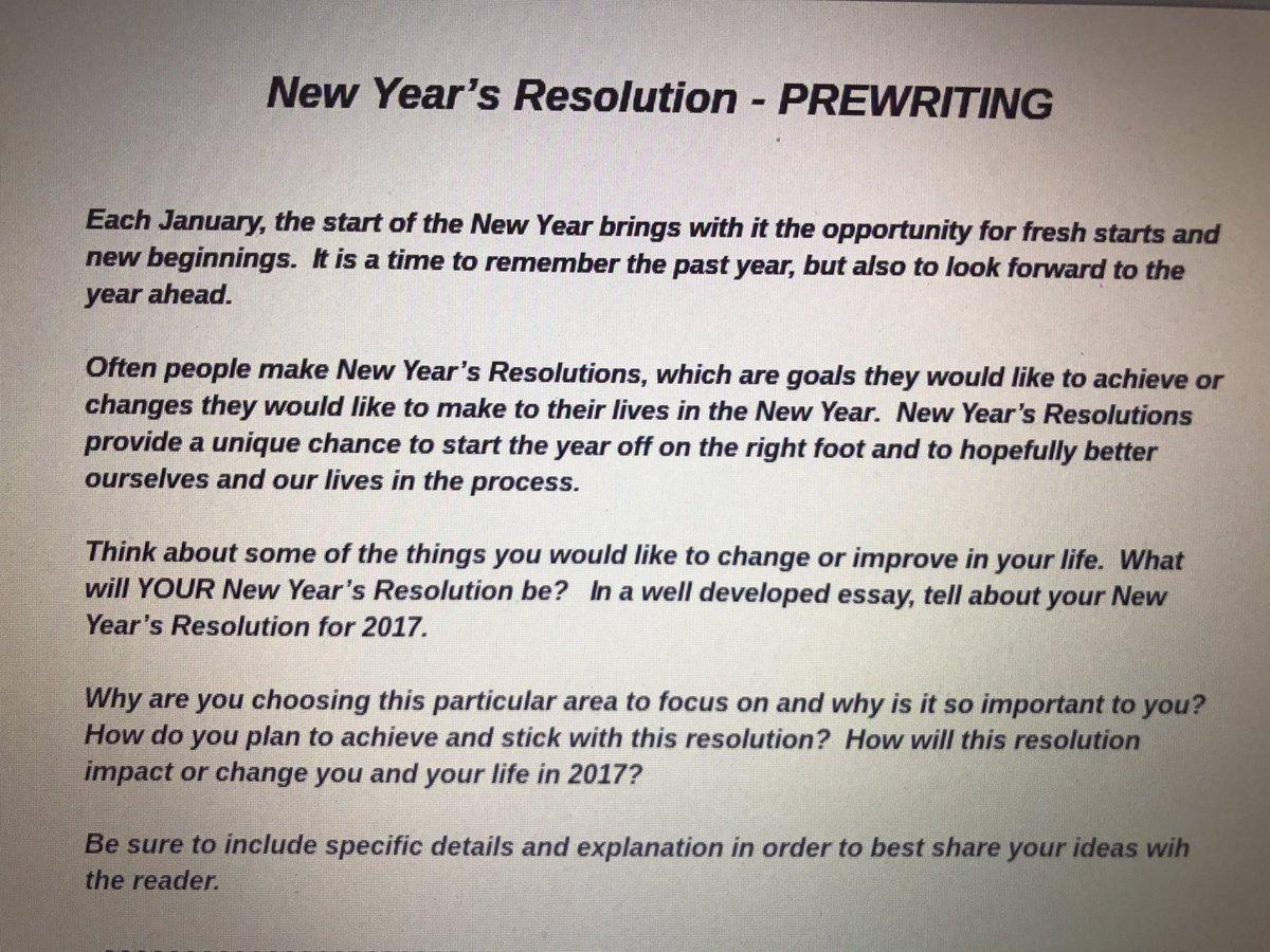 009 My New Year Resolution Essay C1qmqkevqaazf95 Singular High School Student 2019 For Class 5 Full