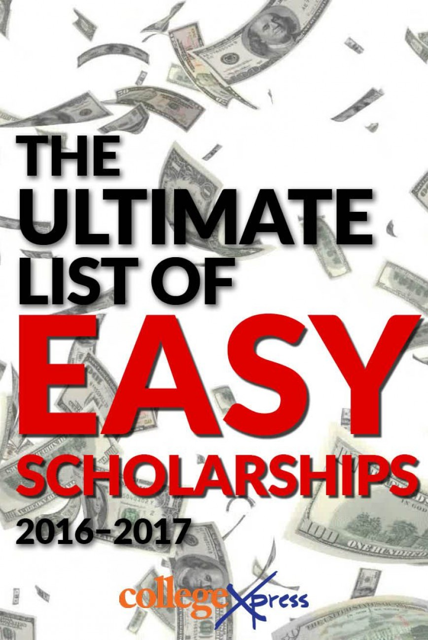 Non essay scholarships