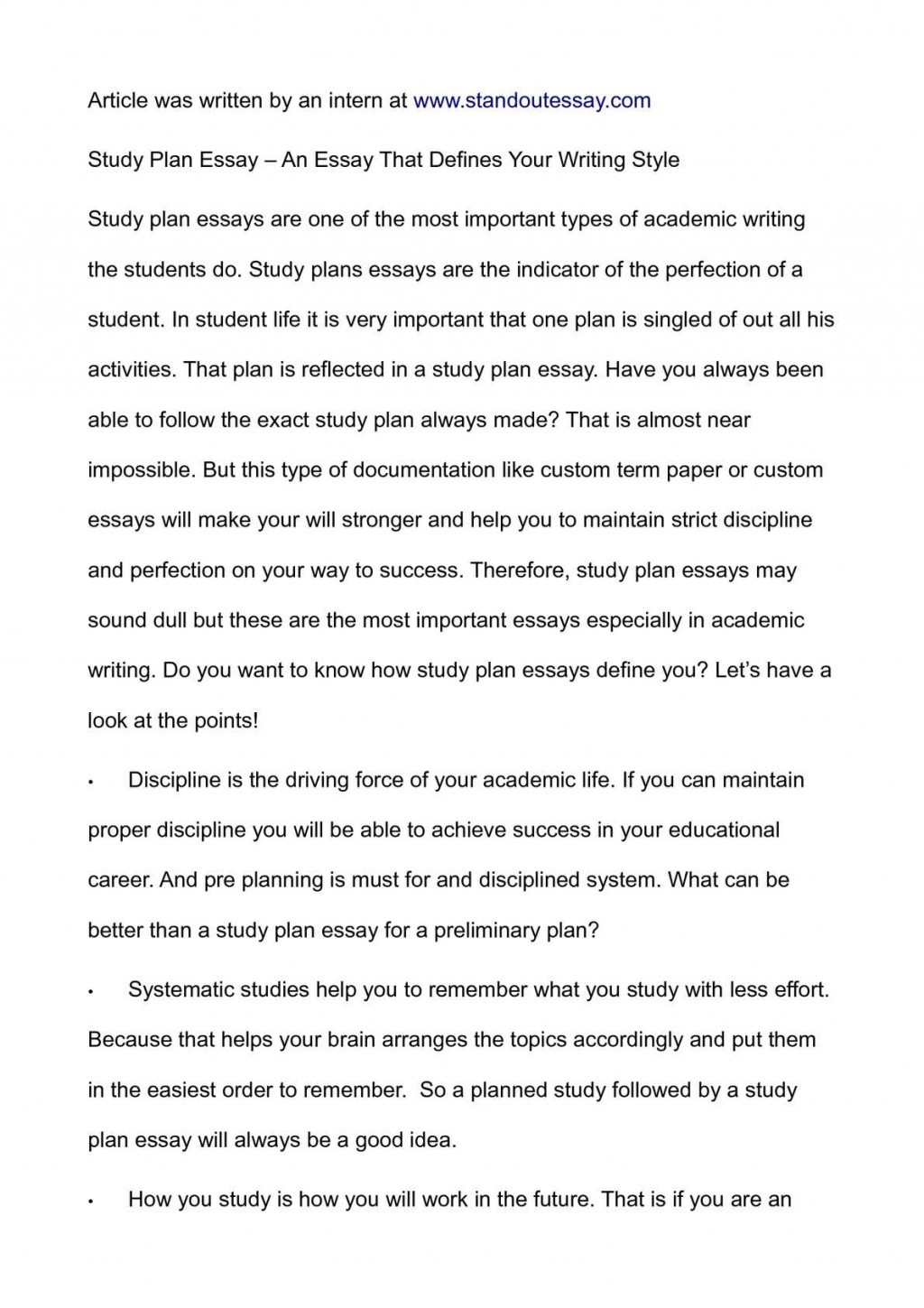 009 P1 Essay Example Success Stirring Definition Academic Conclusion Large