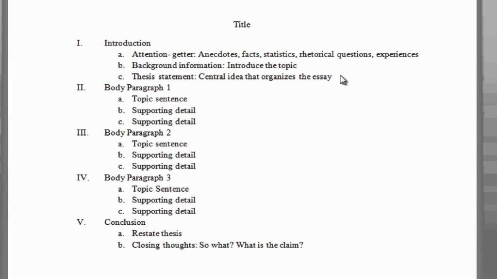 009 Paragraph Essay Outline Template Maxresdefault Fearsome 5 Pdf Persuasive Word Large