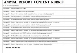 009 Paragraph Essay Rubric Example Awesome 5 8th Grade Middle School Pdf