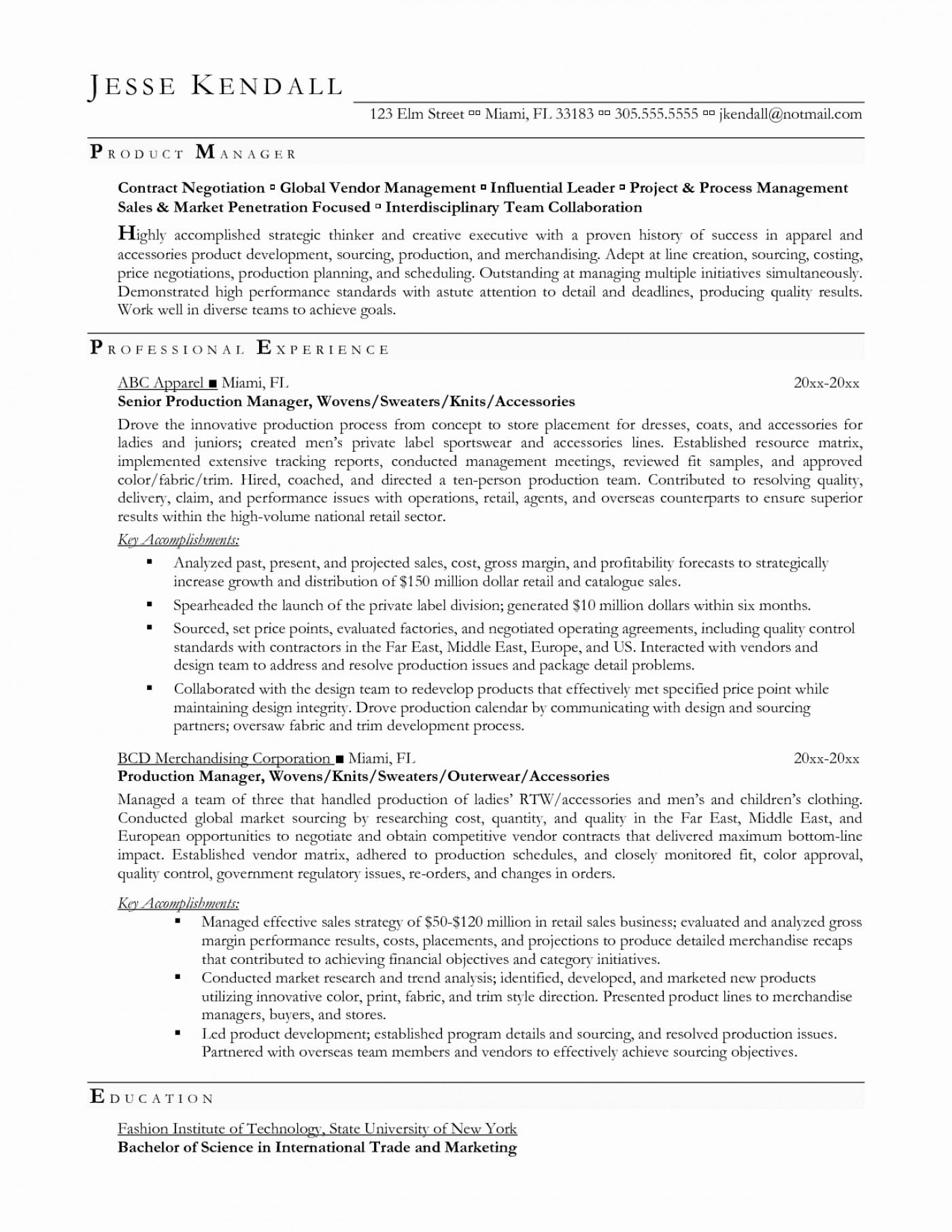 009 Production Supervisor Resume Format Best Ofssay Writing
