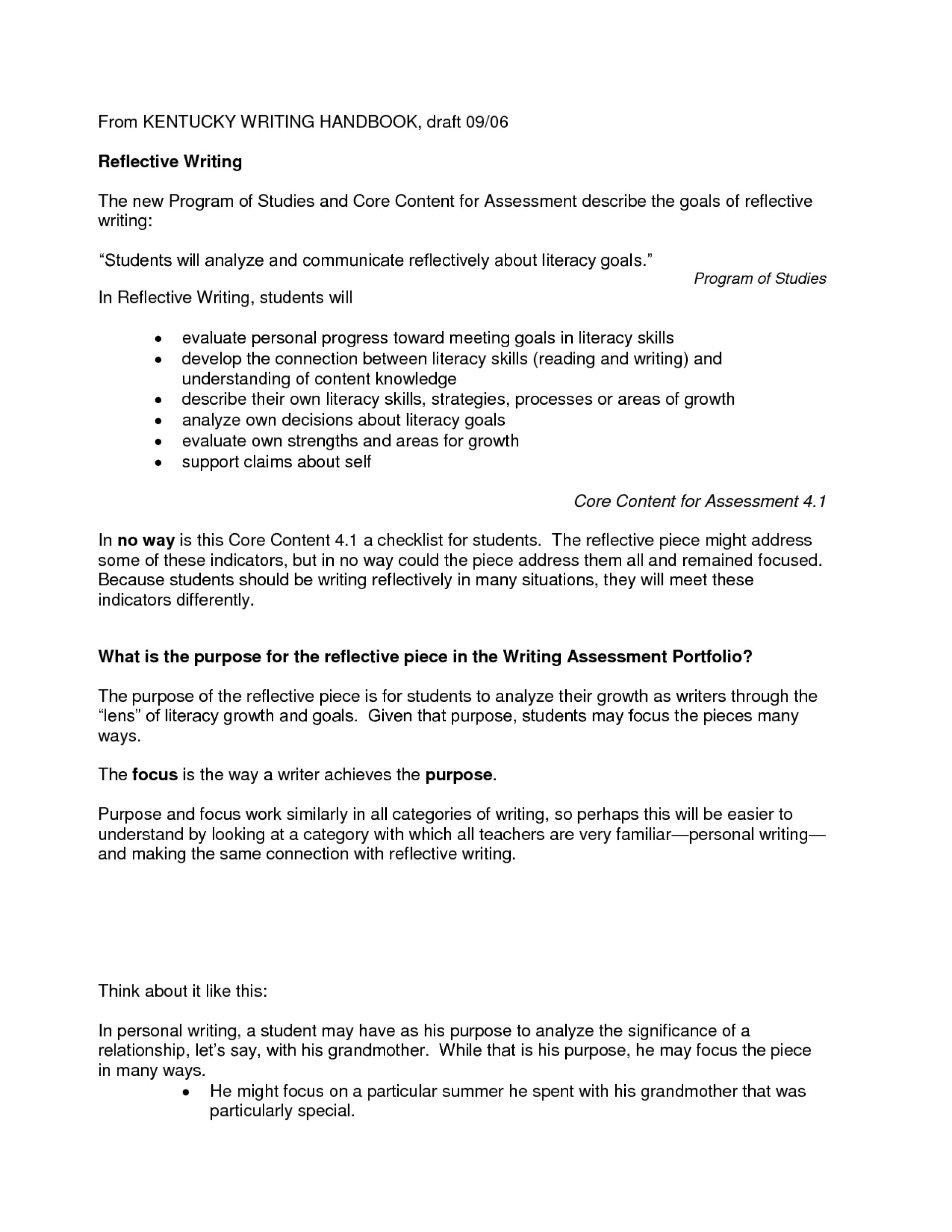 009 Reflective Essay Definition Example Nursing Writing 576466 Excellent Pdf Meaning In Telugu Personal Reflection 1920