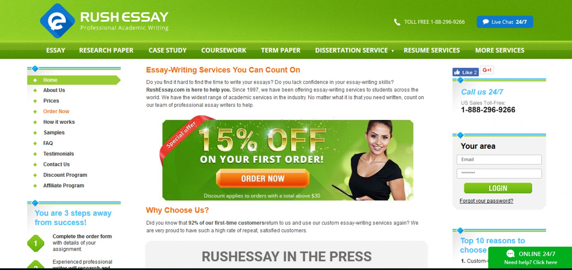 009 Rush Essay Review Rushessay Best My Reviews 1920