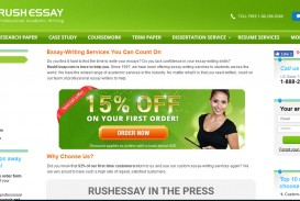 009 Rush Essay Review Rushessay Best My Reviews