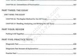 009 Sat Essay Practice Example Kaplan Premier With Tests Online Exceptional Test 8 4