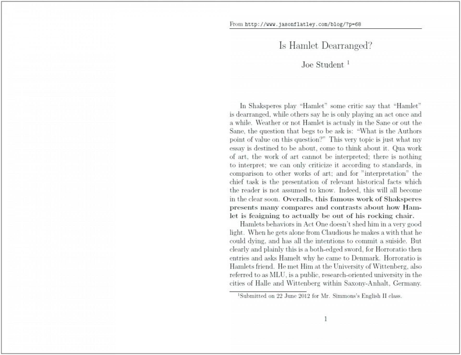 009 Standard Essay Format Example Form Essays On Double Coursework Academic Sat Impressive Apa Style Font Size 1920