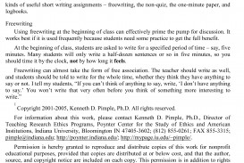 essay example teaching  thatsnotus  teaching essay writing sample