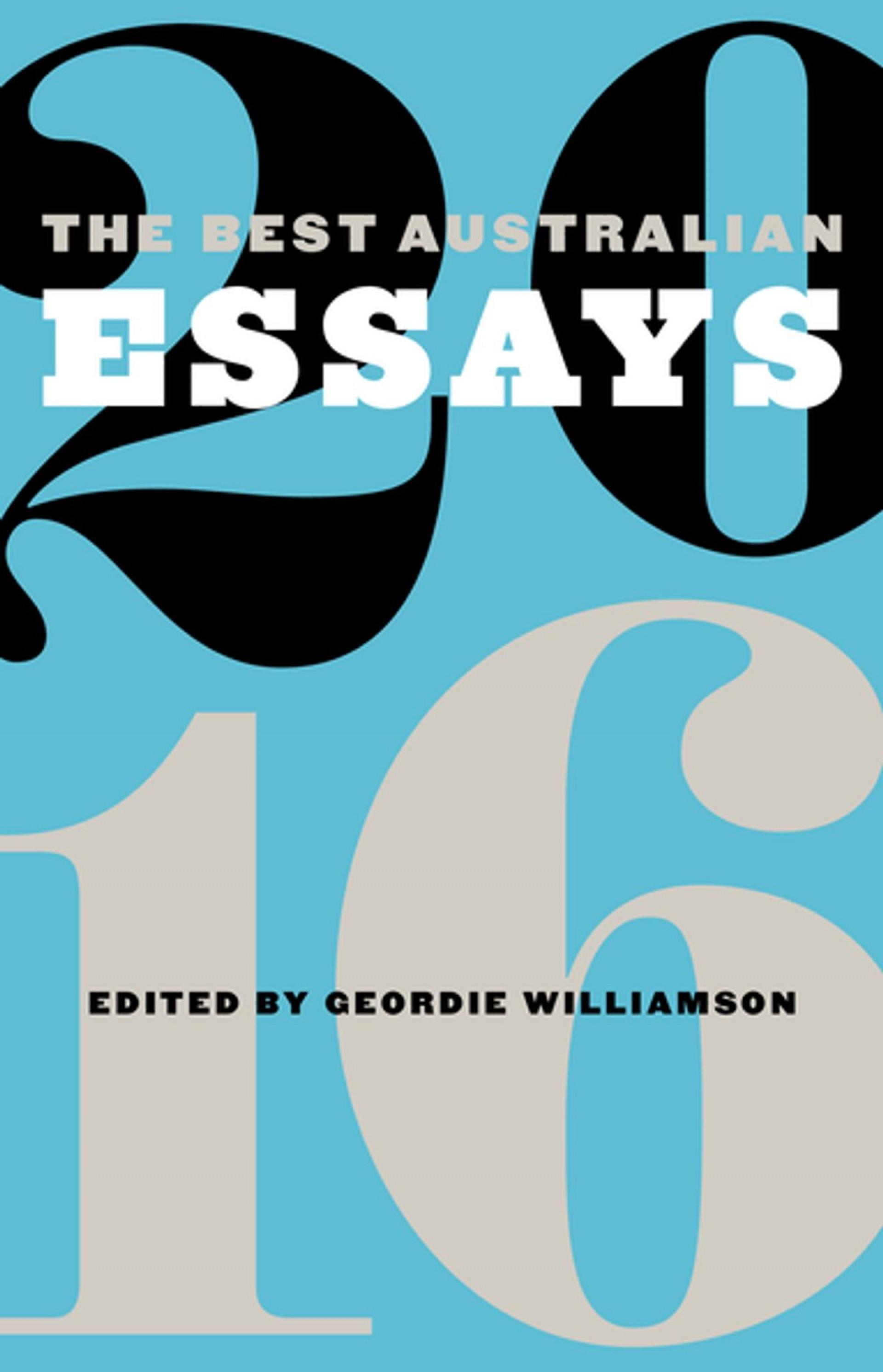 009 The Best Australian Essays Essay Breathtaking 2016 American Audiobook Short Pdf 1920