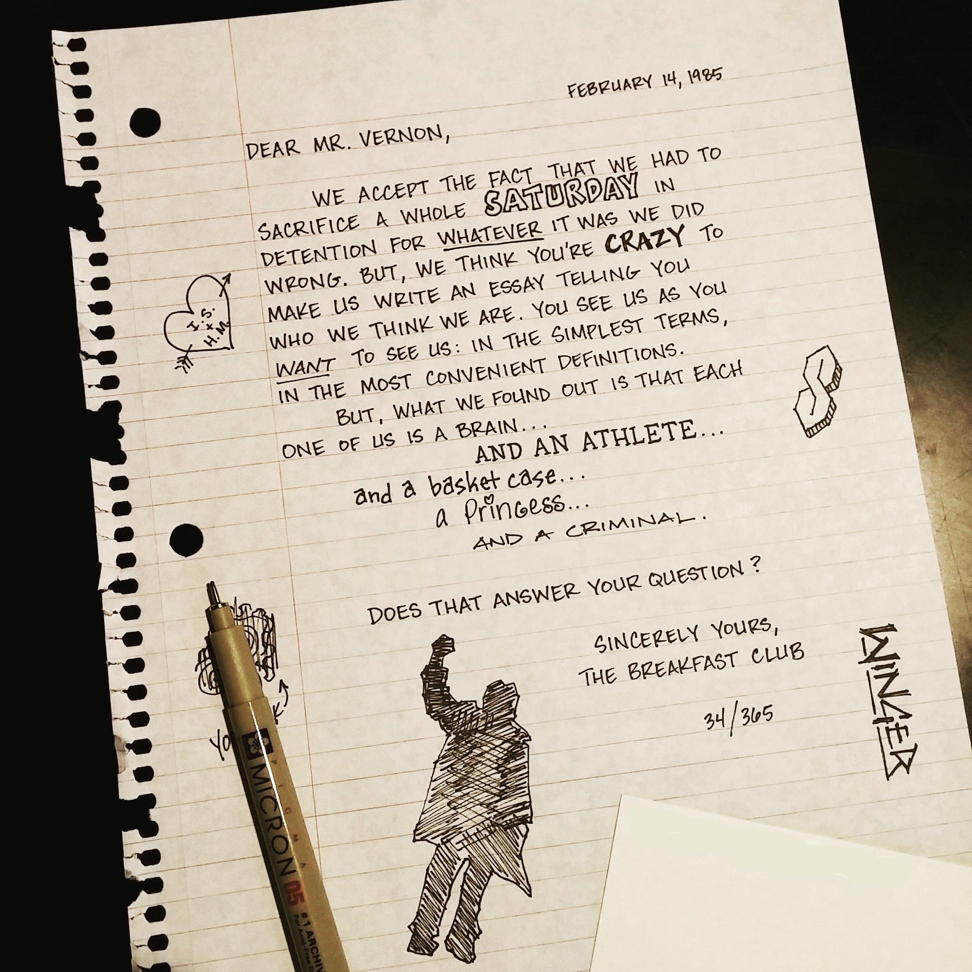 009 The Breakfast Club Essay Breathtaking Scene Introduction Analysis Full