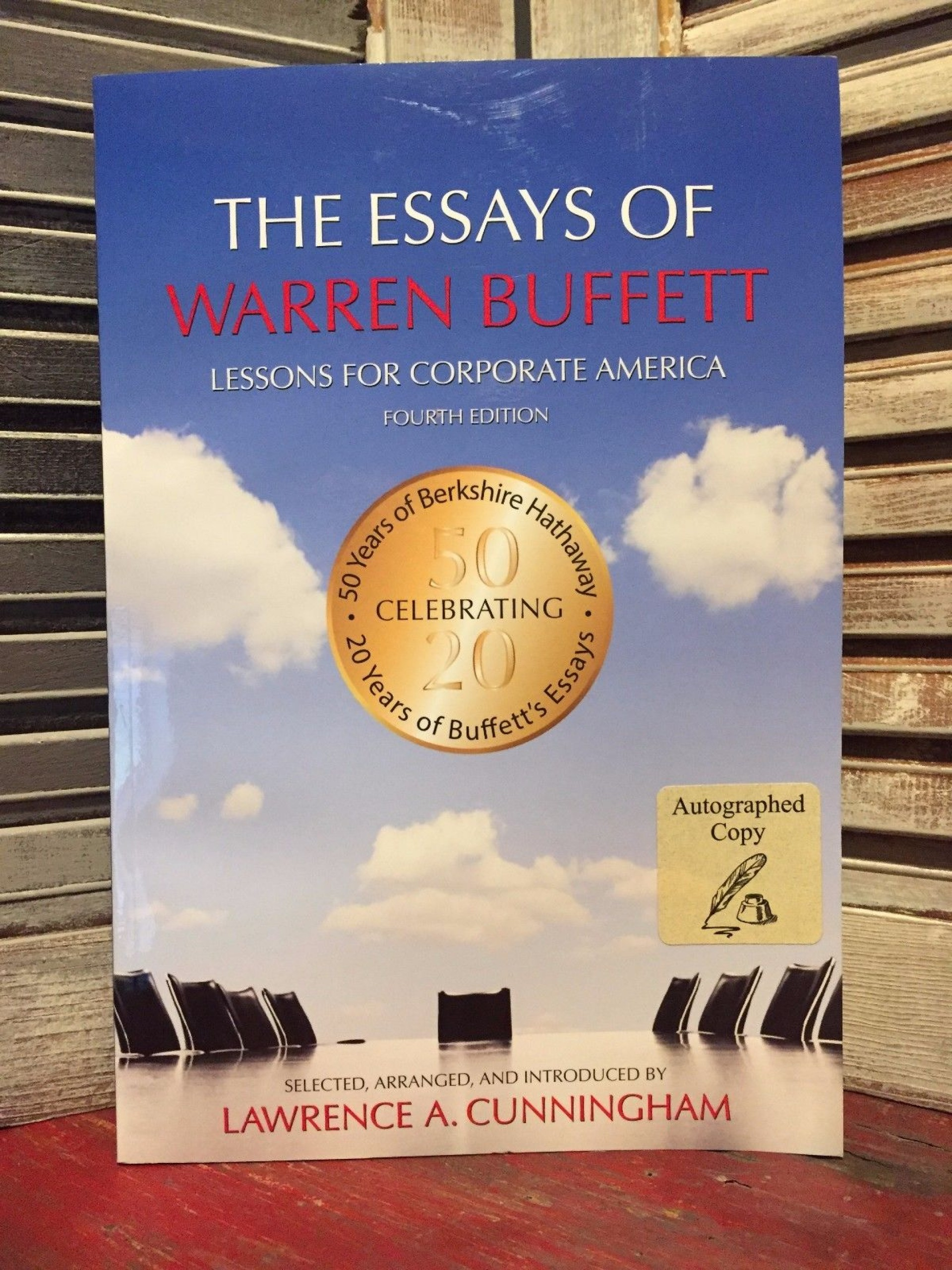 009 The Essays Of Warren Buffett Lessons For Corporate America Essay Example S Remarkable Third Edition 3rd Second Pdf Audio Book 1920