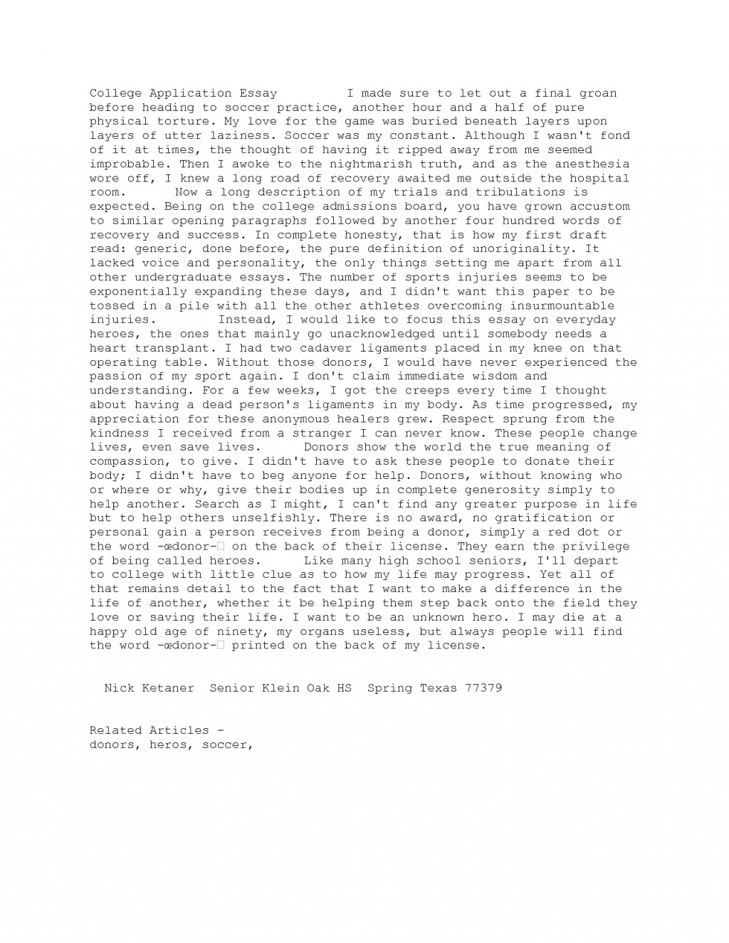 009 Vpe5vbrgnp Essay Example College Archaicawful Header Application Margins Large