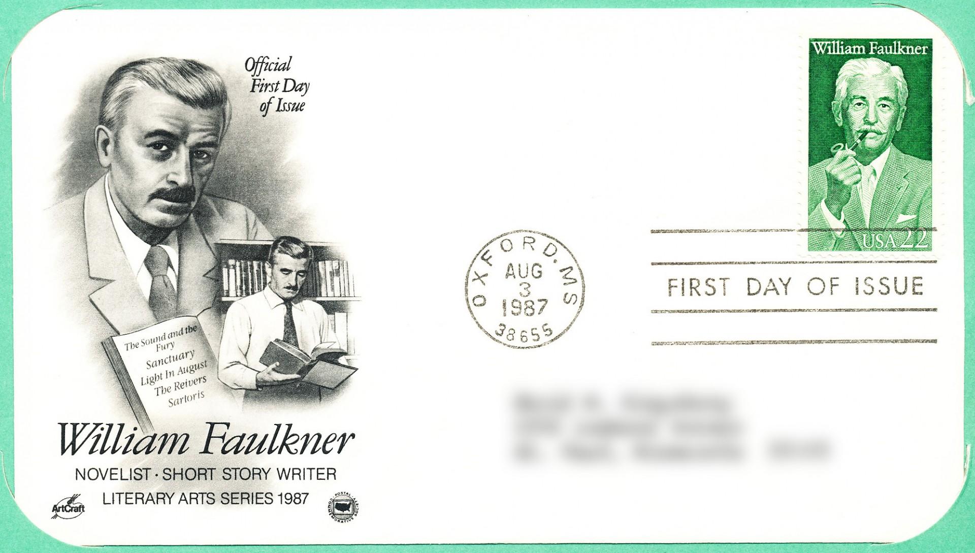 009 Williamfaulknerstamp William Faulkner Essays Essay Stunning Topics 1920