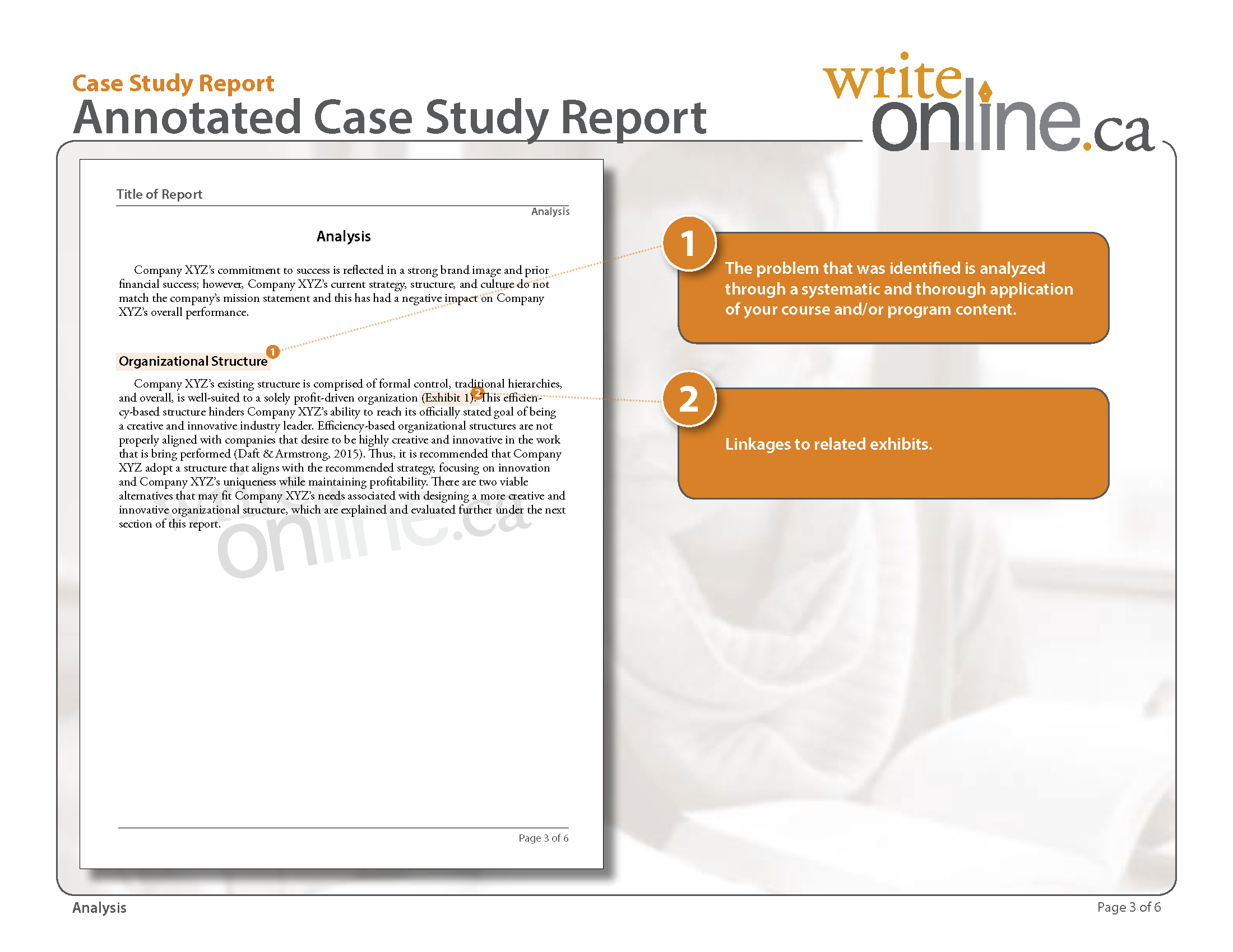 009 Write Online Case Study Report Writing Guide Parts Of Persuasive