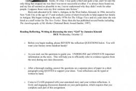 010 008004157 1 Girl By Jamaica Kincaid Essay Marvelous