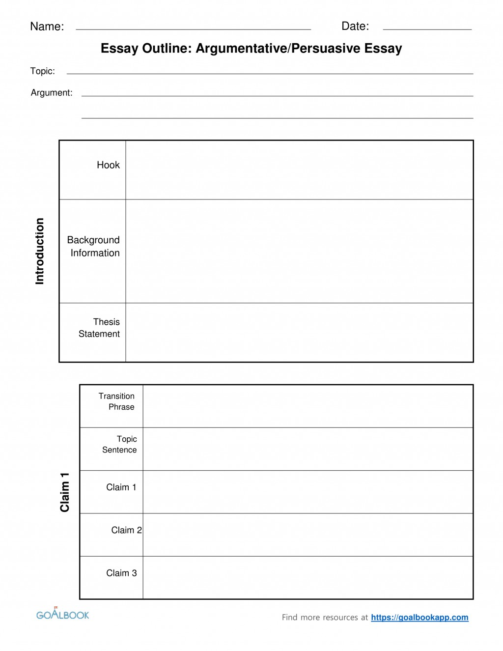 010 2argumentative Persuasiveessayoutlinechunked Argumentative Essay Graphic Organizer Pdf Impressive Persuasive Middle School Large