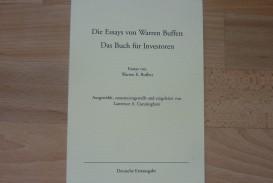 010 9152otplypl Essay Example Die Essays Von Warren Archaicawful Buffett Das Buch Für Investoren Pdf Und Unternehmer