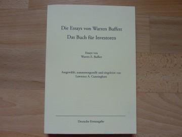 010 9152otplypl Essay Example Die Essays Von Warren Archaicawful Buffett Das Buch Für Investoren Und Unternehmer Pdf 360