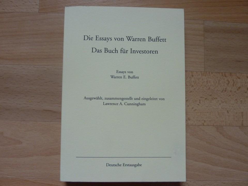 010 9152otplypl Essay Example Die Essays Von Warren Archaicawful Buffett Das Buch Für Investoren Und Unternehmer Pdf 960