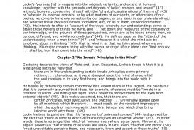 010 An Essay Concerning Human Understanding Stunning Book 2 Chapter 27 Summary Locke Analysis John Tabula Rasa