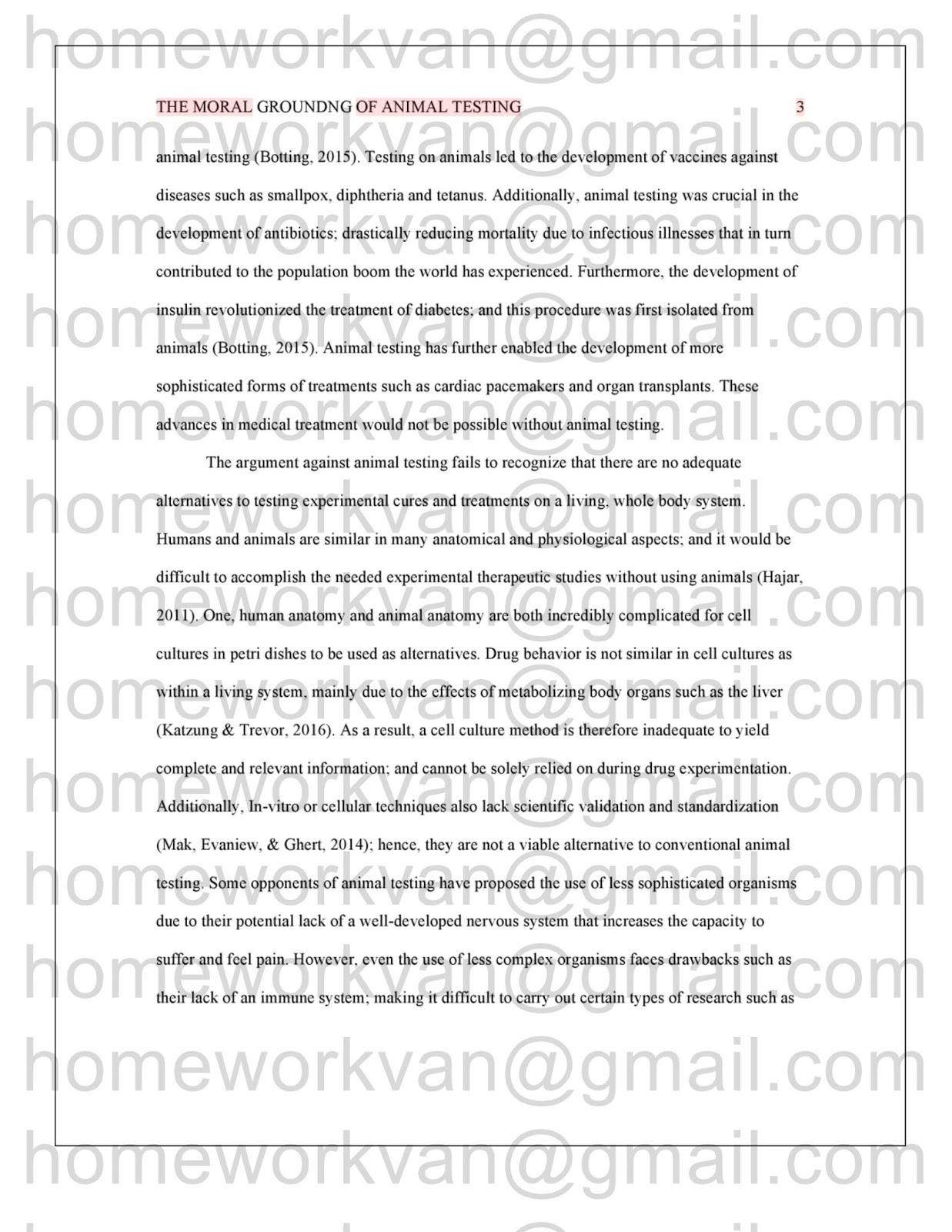 010 Animal Testing Essay Homeworkvan2bessay Surprising Pro Persuasive Conclusion Titles Full