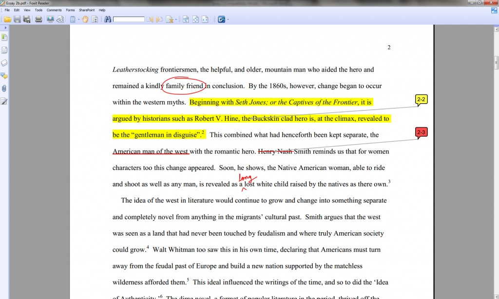 010 Annotatesv How To Annotate An Essay Wondrous A Movie In Critical Large