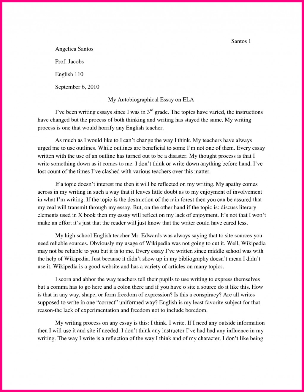 010 Childhood Essay Example My Memories Outline Docoments Ojazlink On L Outstanding 150 Words Ideas Examples Large