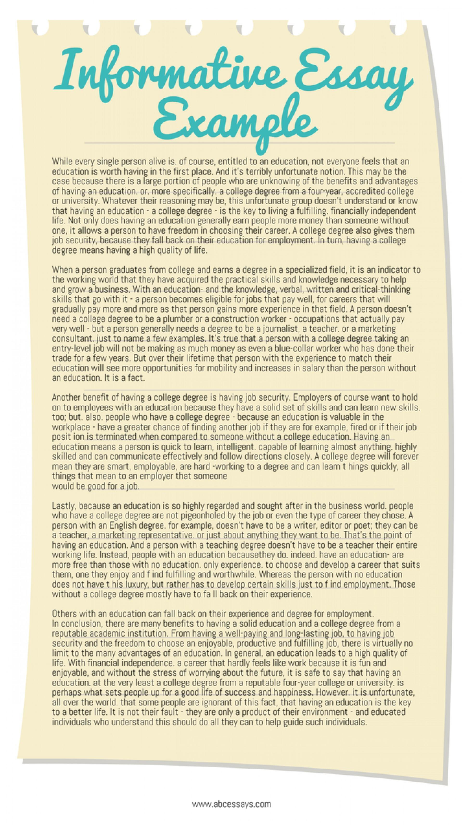 010 Cj8yymmwsaaz6h5 Informative Essay Impressive Example Examples College For High School Pdf 1920