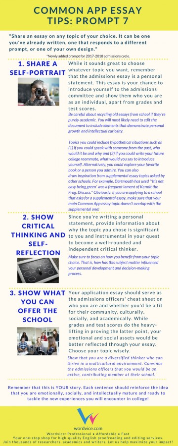 010 Common Application Essay Prompts Example App Brainstormprompt Best 2017 2017-18 A Guide 360
