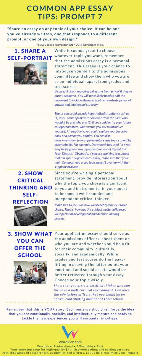 010 Common Application Essay Prompts Example App Brainstormprompt Best 2017 2017-18 A Guide Examples 480