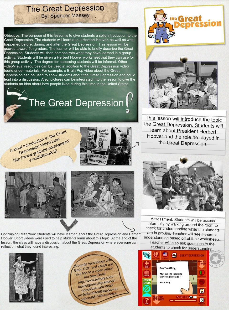010 Conclusion Of The Great Depression Essay Example Amazing 960