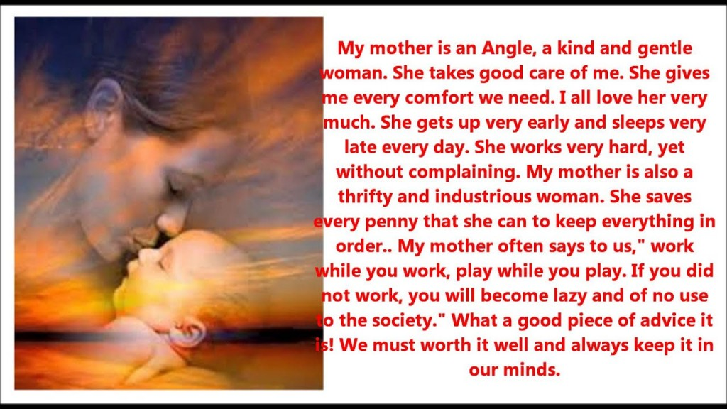 010 Essay About Mom Example Surprising Influence Being Role Model On And Dad In Gujarati Large