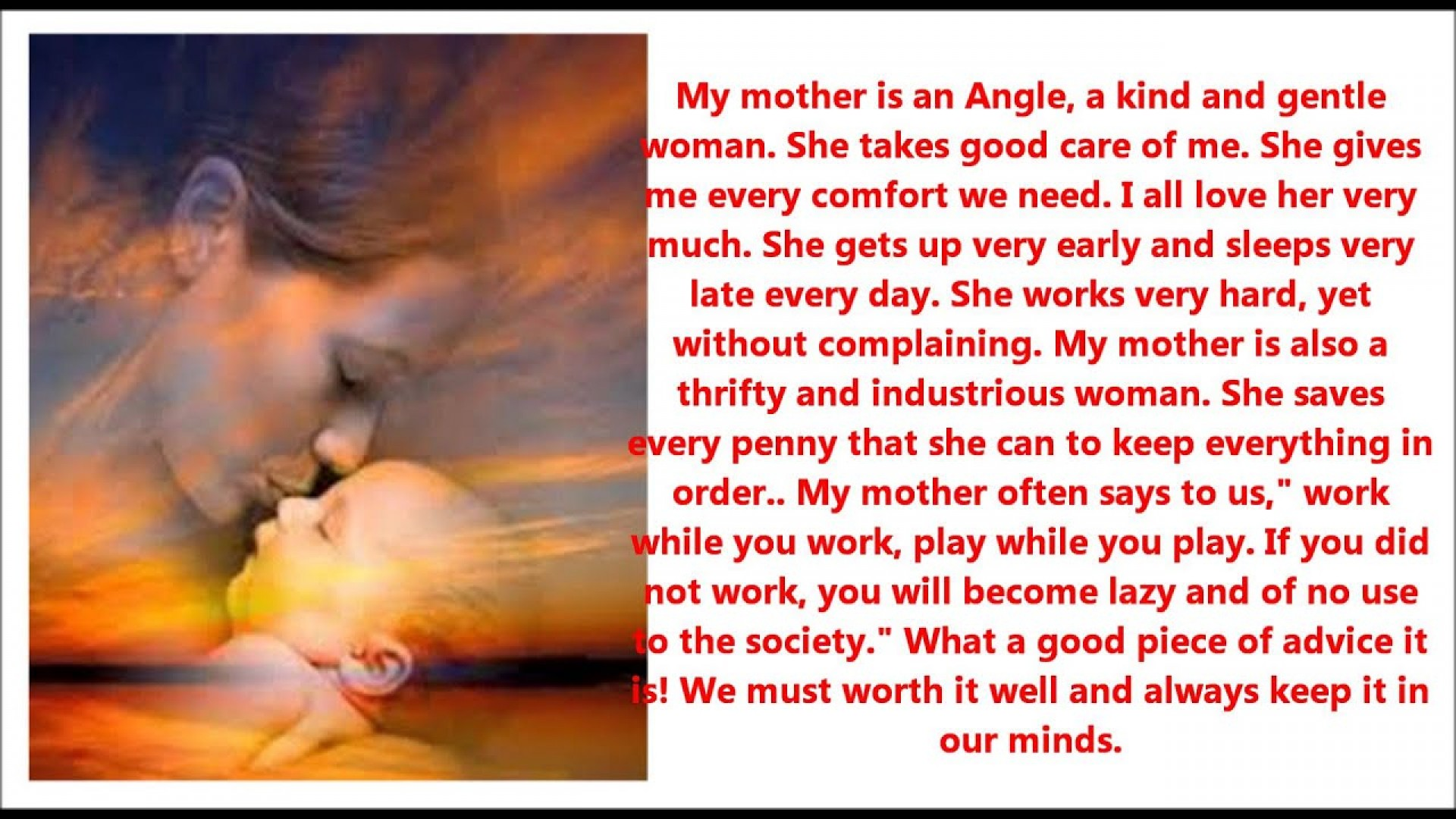 010 Essay About Mom Example Surprising Influence Being Role Model On And Dad In Gujarati 1920